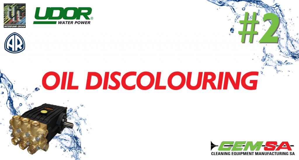 CEMSA Oil Discolouring