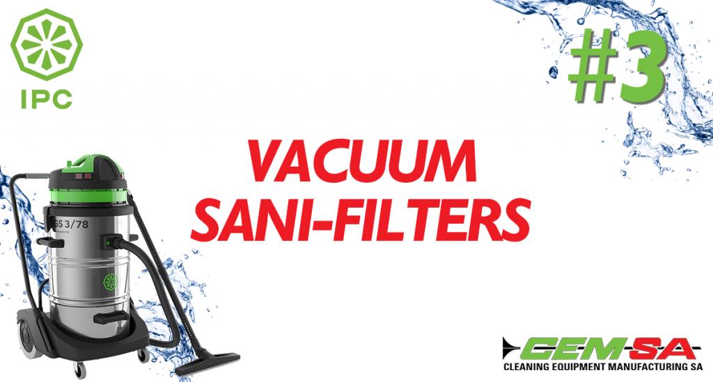 CEMSA Vacuum Sani-Filters