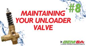 CEMSA Maintaining your unloader valve