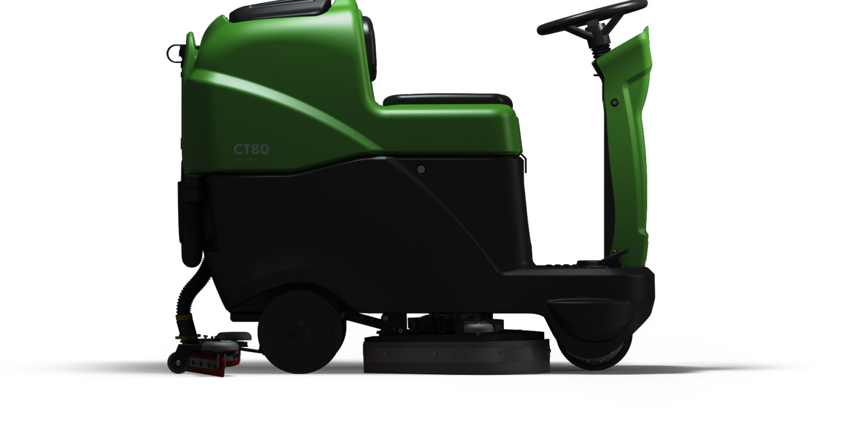 CT80 Ride- On Floor Scrubber
