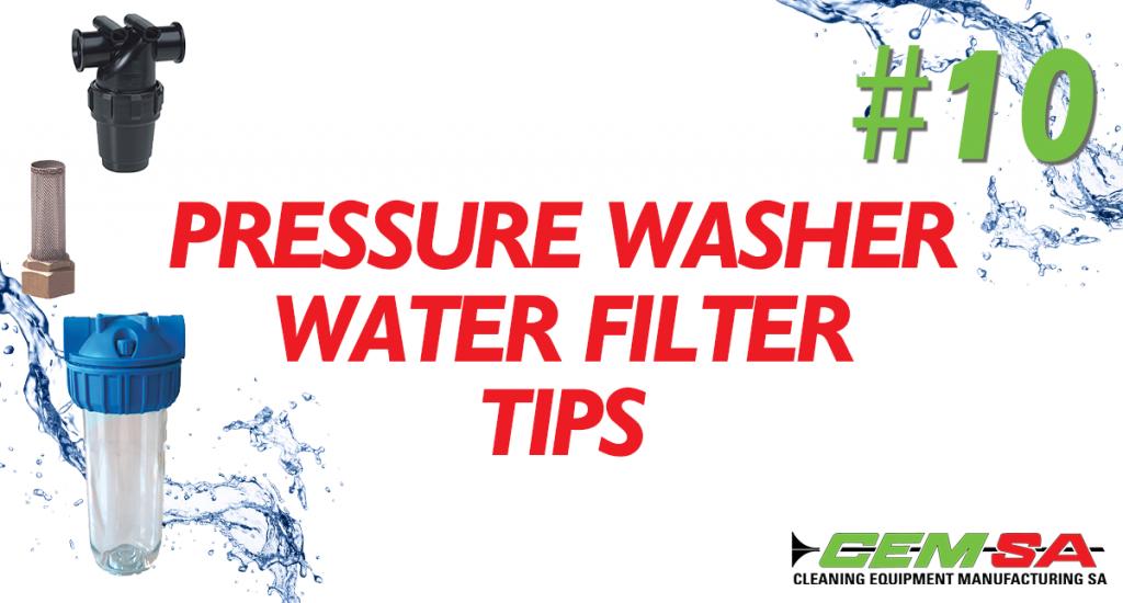 CEMSA Pressure washer water filter tips