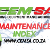 Cover Photo for Maintenance Index