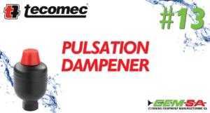 CEMSA Pulsation Dampener
