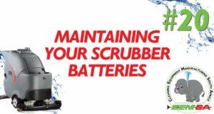CEMSA Tech Talk #20 Floor Scrubbers