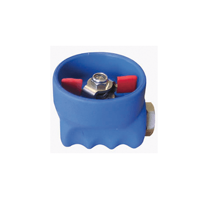 Rubber Protected Ball Valve