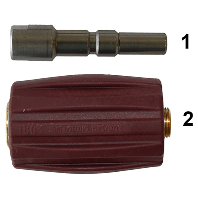 Ball Quick Release Coupling for CDR Foam Bottle