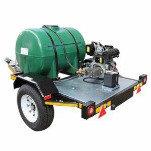 CEMSA Diesel Pressure Washer Trailer