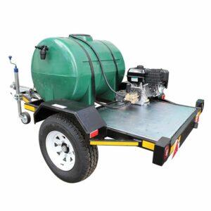 CEMSA Petrol Pressure Washer Trailer